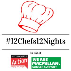 12 nights 12 chefs Logo