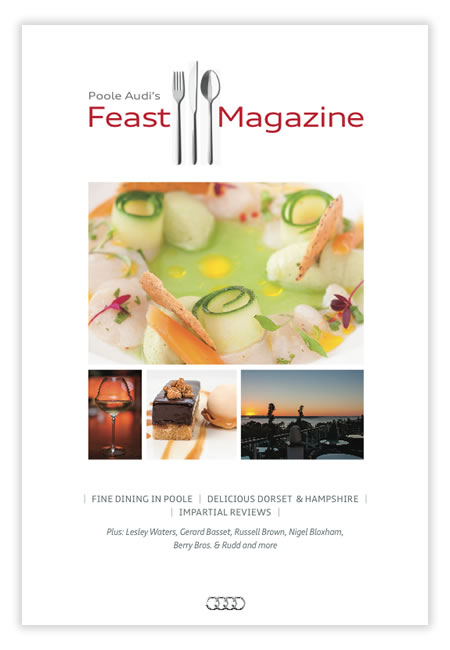 Poole Audi's Feast Magazine