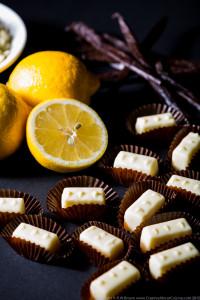 White Chocolate, Lemon and Vanilla Ganache 1