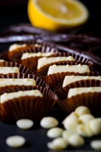 White Chocolate, Lemon and Vanilla Ganache 2