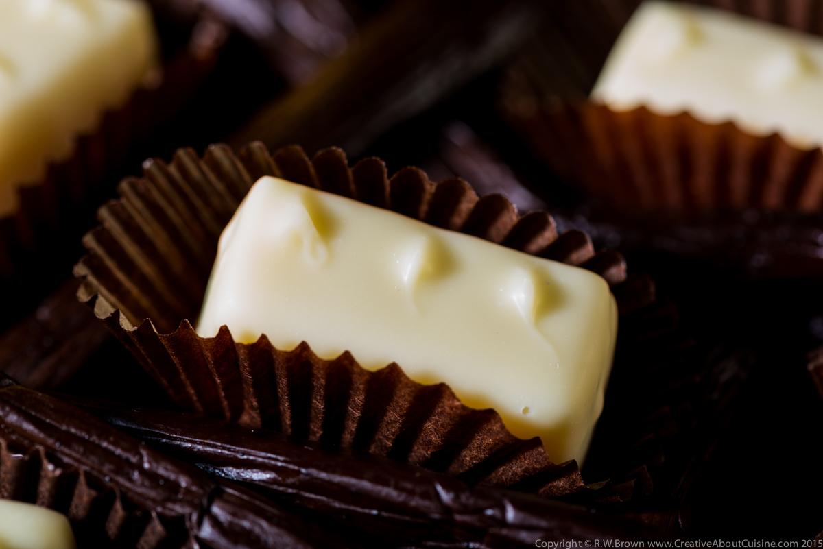 White Chocolate, Lemon and Vanilla Ganache