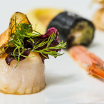10 Scallop and langoustine Phillipe Hardy