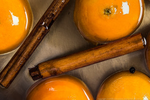 Confit clementines
