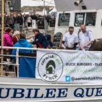 Cornish Duck truck on the jubilee Queen