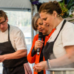 Neil Borthwick and Angela Hartnett
