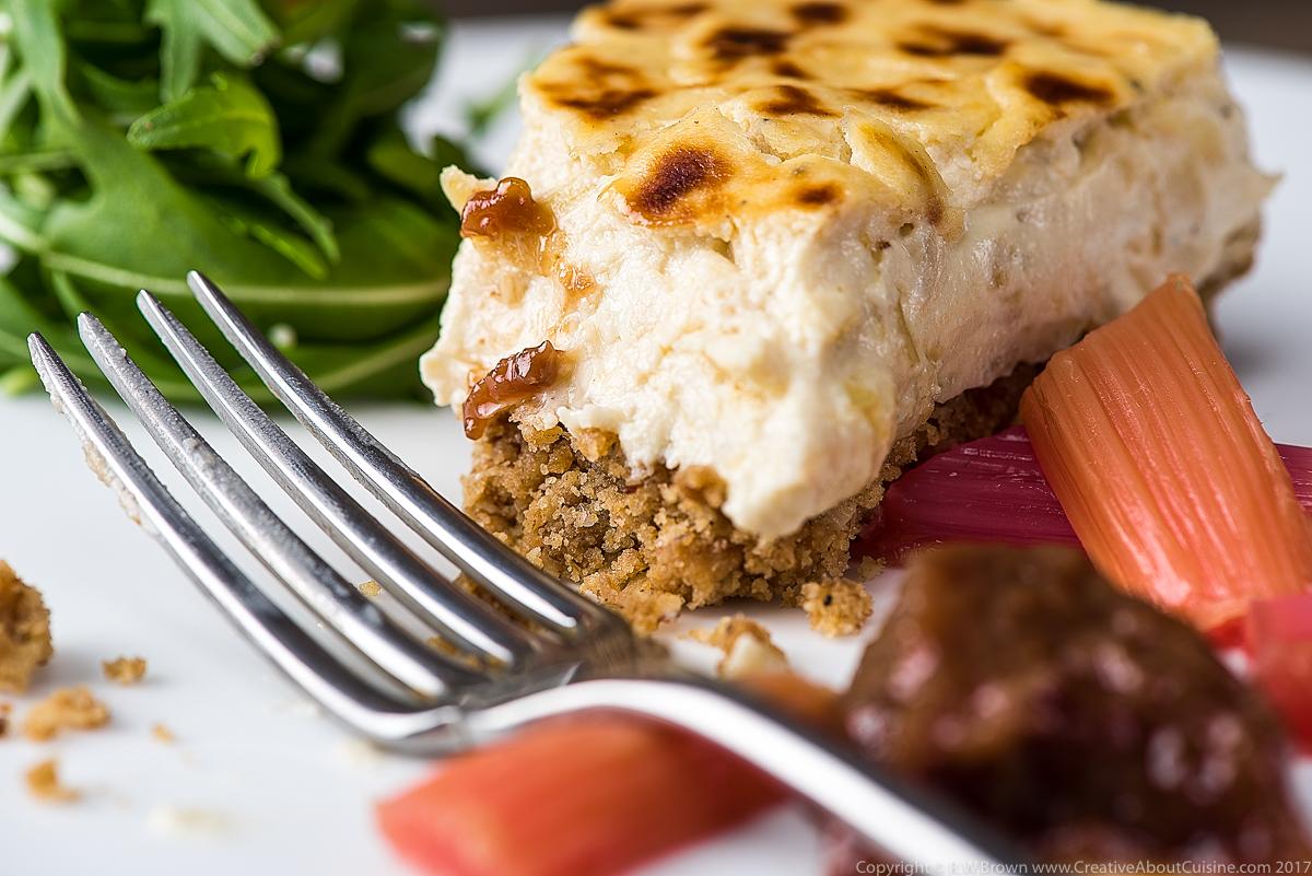 Caramelised Onion Cheesecake